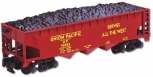 American Flyer 6-48619 S Scale Union Pacific Covered Hopper With Coal Load NIB