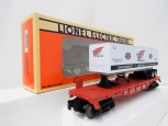 Lionel 6-16953 NYC Flatcar w/ Red Wing Shoes Trailer O Gauge New York Central 95
