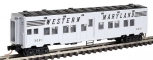MicroTrains 11600050 N Scale Western Maryland 50' Troop Sleeper #3021 LN/Box