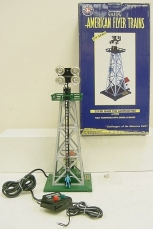 American Flyer 6-49805 S Scale Gabe the Lamplighter Tower LN/Box