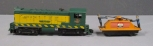 American Flyer S Scale C&NW #355 & 740 Operating Handcar [2]
