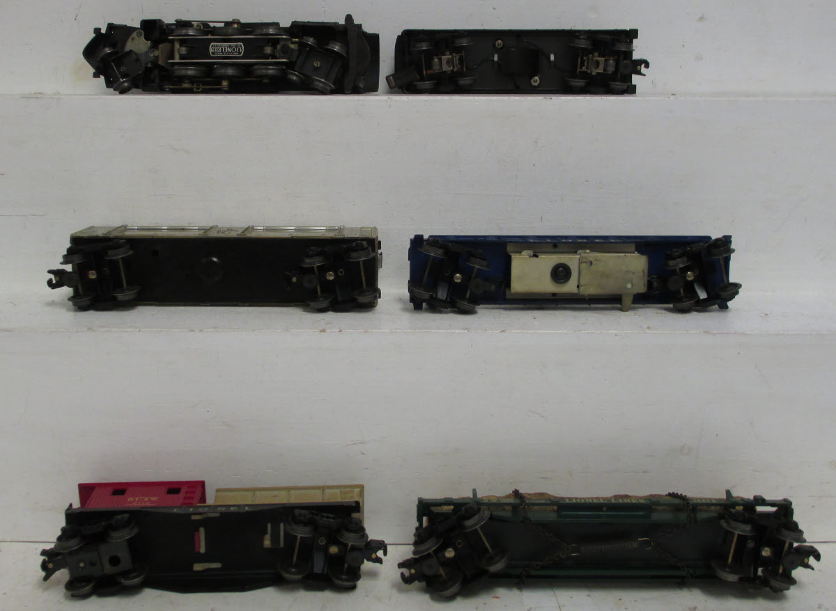 Lionel 2571 637 Fort Knox Steam Freight Set w/736W,3419,6445,