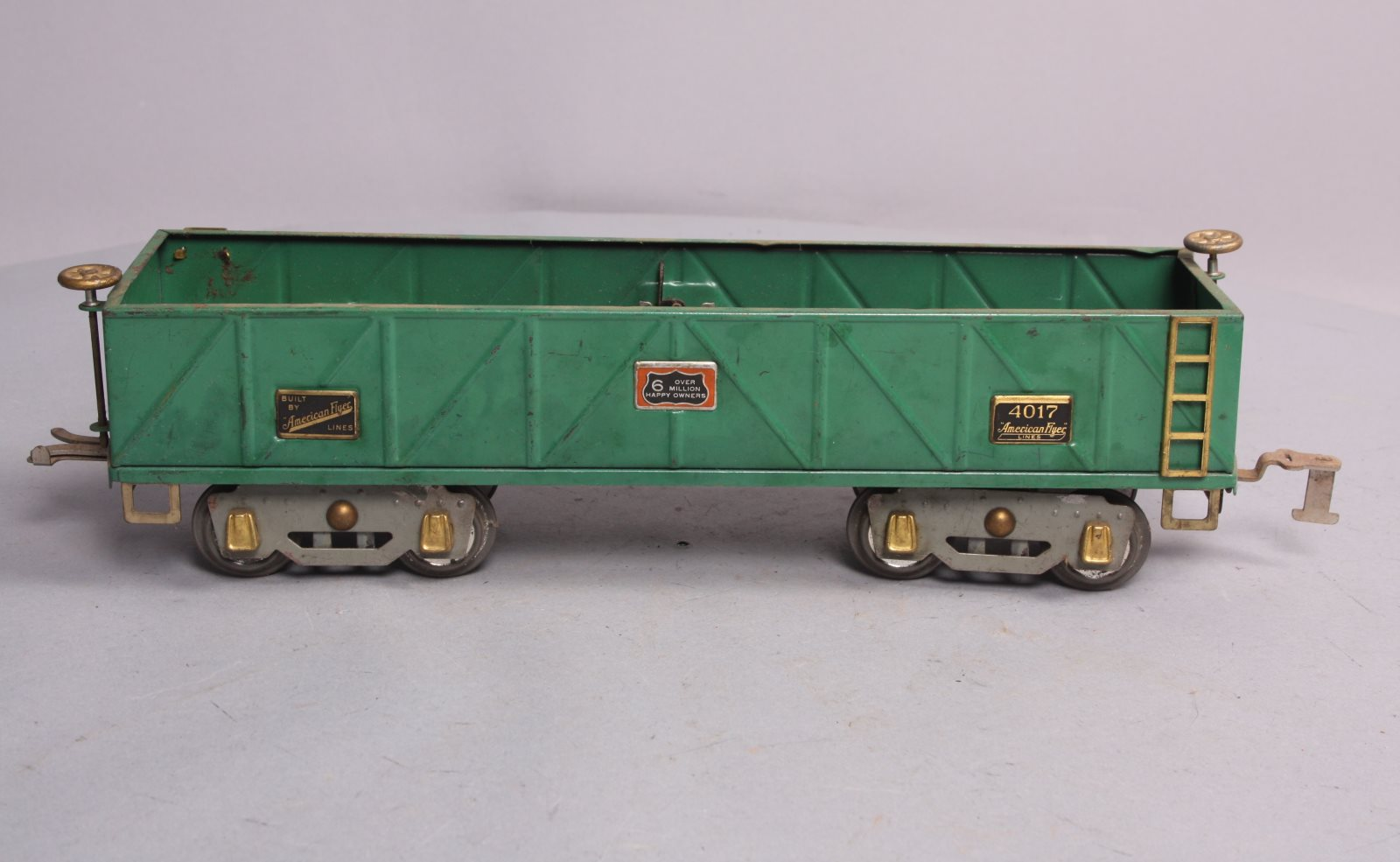 Buy American Flyer 4017 Standard Gauge Green Gondola