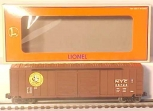 Lionel 6-17263 New York Central Standard O Boxcar LN/Box