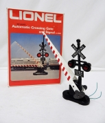 Lionel Trains 6-2162 Automatic Crossing Gate & Signal EXCELLENT w original box O