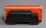 Lionel 6466WX Operating Whistling Tender/Box