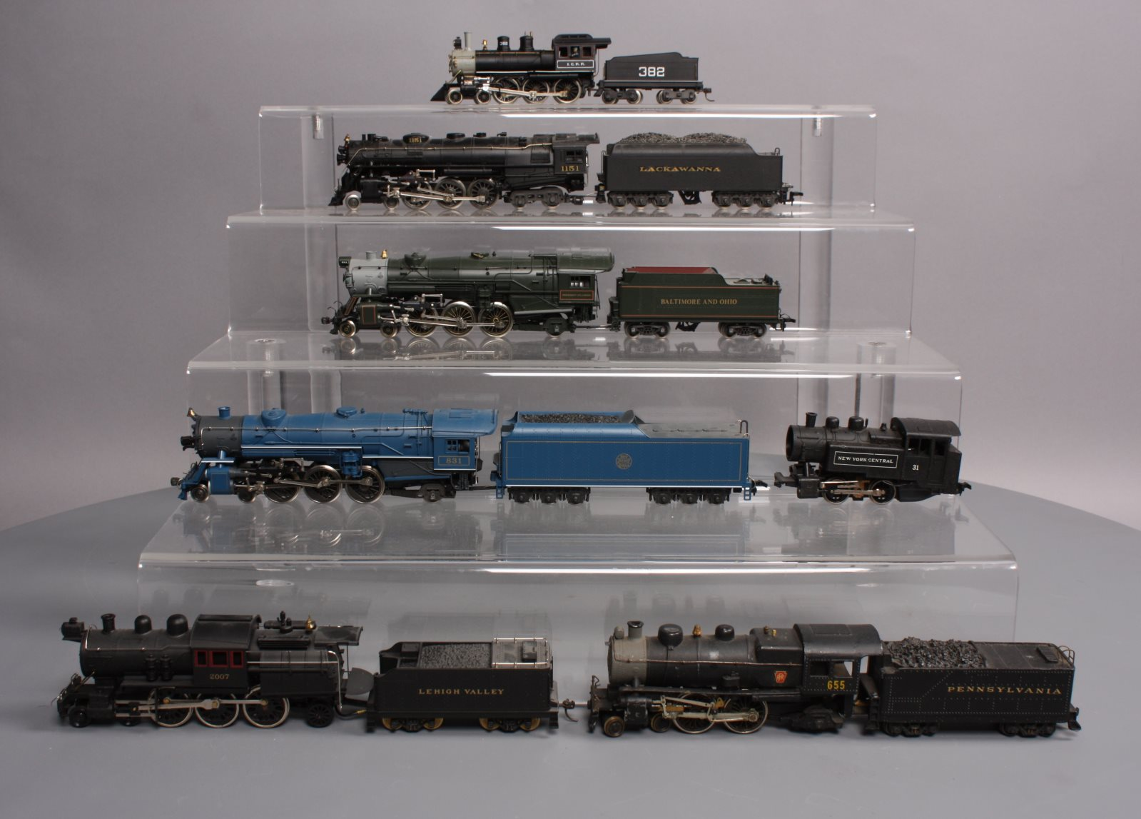 Buy HO Scale Steam Locomotives, Various Road Names (7