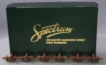 Weathered Bachmann Spectrum 27391 On30 Skeleton Log Car Set/Box