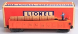 Lionel 3562-75 Orange AT&SF Operating Barrel Car/Box