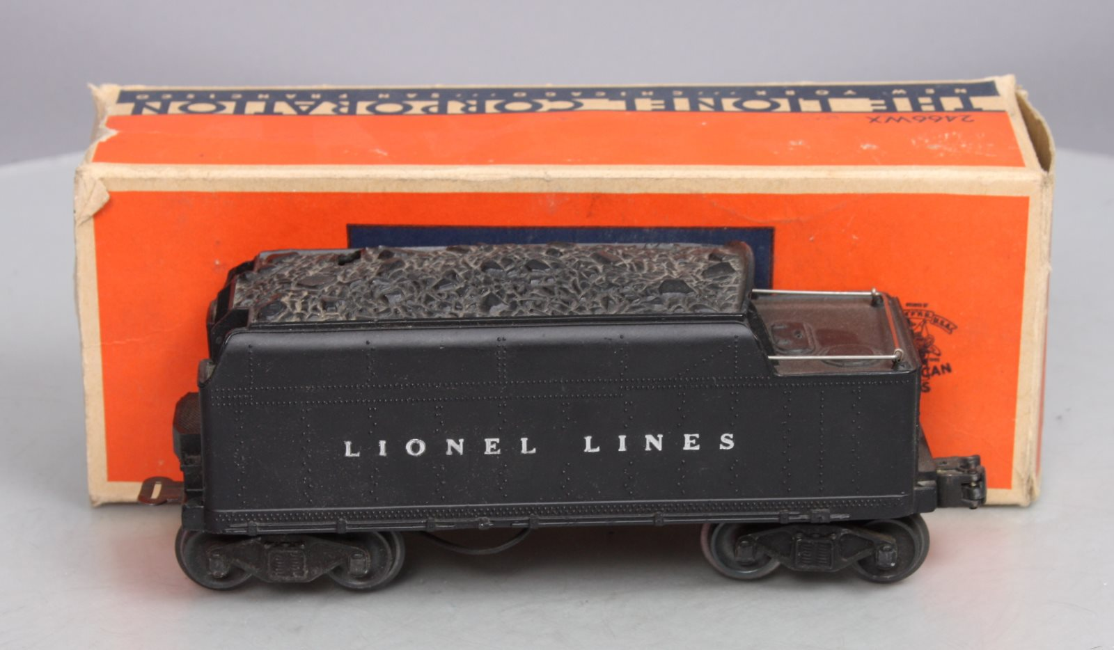 Buy Lionel 2466WX Lionel Lines Whistling Tender/Box | Trainz Auctions