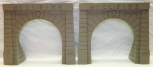 VNTG Lionel 920-2 PAIR of Hillside Tunnel Portals from Scenic Display Set 1957 O