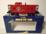 American Flyer 6-48214 S Scale Great Northern (NASG) Offset Cupola Caboose LN