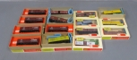 Train Miniature HO Scale Assorted Freight Cars & Kits [15]/Box