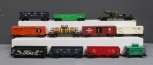 Lionel O Freight Cars: 9068, 62277, 9278, 19809, 43257, 9012, 9013, 9042, 9141,