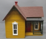 G Scale Assembled House