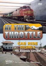 At The Throttle Cab Ride Vol.4 The Alameda Corridor Pentrex DVD BNSF UP Railroad