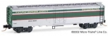 MicroTrains 52080 N Scale Railway Express Agency 52' 2 Riveted Steel Express Re