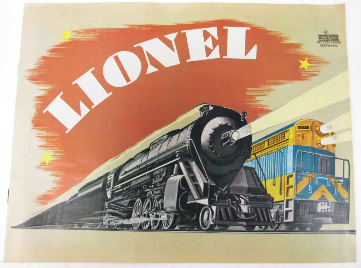 Buy Lionel 1969 Full Color Consumer Catalog | Trainz Auctions