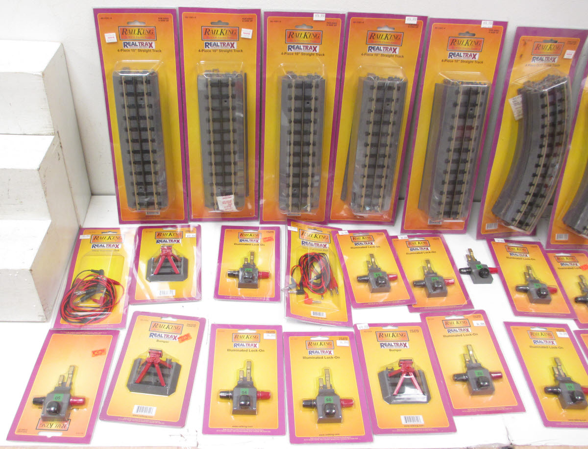 MTH O Gauge Track, Lock-Ons, Bumpers & Wiring Harnesses (10+