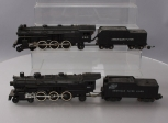 American Flyer 283 C&NW 4-6-2 Steam Locomotive w/Tender & 290 4-6-6 Steam Locomo