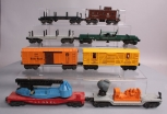 Lionel O Gauge Assorted Postwar Freight & Operating Cars [8]