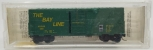 MicroTrains 24210 N Scale The Bay Line 40' Standard Single Door Boxcar Without R