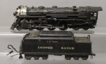 Lionel 003 NYC OO 4-6-4 Hudson Steam Loco - Repainted For Copper Range