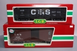 LGB G Scale Colorado & Southern Freight Cars: 41730 Gondola and 45670 Boxcar w/