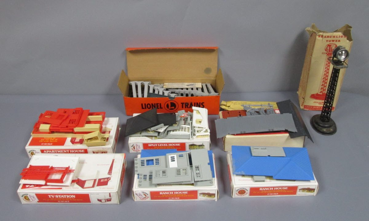 Buy Plasticville O Scale Building Kits, Lionel Trestle & Marx