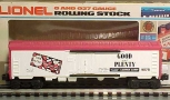 Lionel 6-9878 Good & Plenty Billboard Reefer Car LN/Box