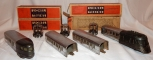 1937 Prewar Lionel Set #267W Flying Yankee Articulated Streamliner Gray/Ch w/bxs