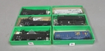 Bowser & Walthers HO Scale Car Kits and Assembled Hoppers [6]/Box