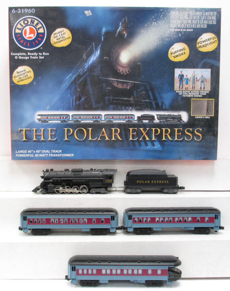 Buy Lionel 6-31960 Polar Express Train Set/Box | Trainz Auctions