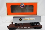 Lionel 6-26055 Chesapeake & Ohio Piggyback Flatcar w/ removable Trailer C&O