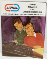 Lionel 1968 Trains and Accessories Catalog LN
