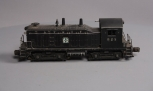 Lionel 623 Santa Fe NW-2 Diesel Switcher - Type 1 (10 Stanchions) -- Repainted