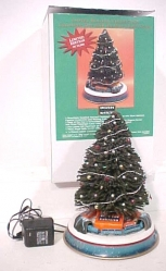 Lionel 7-22991 Christmas Tree w/Blue Comet Train EX/Box