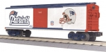 MTH 30-74230 Box Car (NFL - New England Patriots) NEW