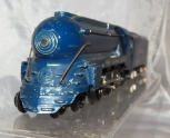 Prewar American Flyer 556 Royal Blue Streamline Loco & Tender B&O Bullet nose O
