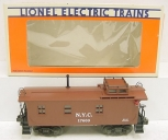 Lionel 6-17600 New York Central Woodside Illuminated Caboose EX/Box