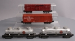 American Flyer S Scale Assorted Postwar Freight Cars; 929, 970, 926, 926 [4]