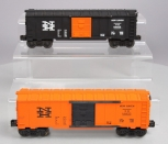 Lionel 6464-725 New Haven Boxcars - Type II and Type III [2]