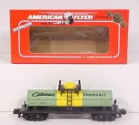 American Flyer 6-48406 S Scale Celanese Chemicals Single Dome Tank Car LN/Box