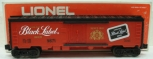 Lionel 6-9871 Black Label Beer Billboard Reefer Car LN/Box