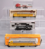 Assorted N Scale Diesel Engines [4]/Box