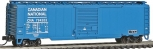 Atlas 50001106 N Scale Canadian National 50' Single Door Boxcar #794203 NIB