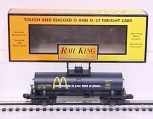 MTH 30-7327 McDonalds (Black) Single Dome Tank Car #78391 NIB