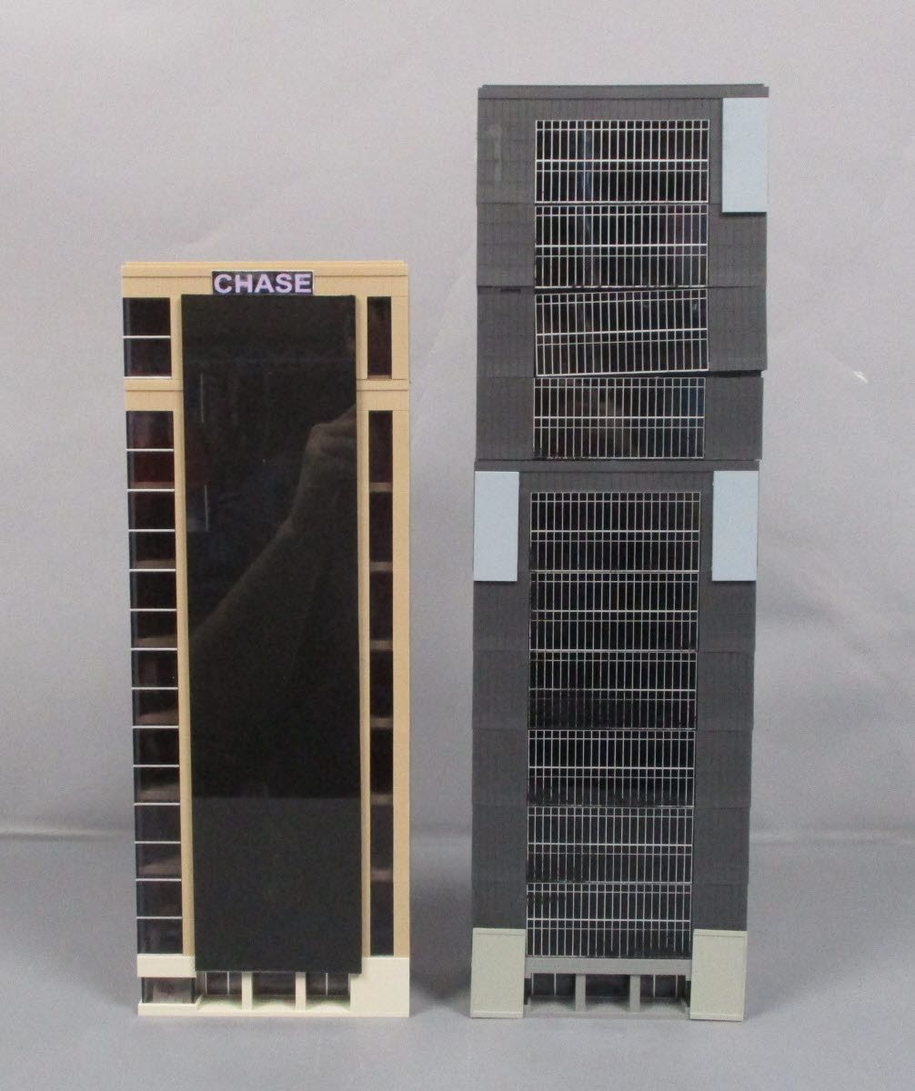 Buy Tomix Built Up N Scale City Layout Buildings [2] | Trainz Auctions