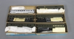 Athearn HO Scale Assorted Atlantic Coast Line & Undecorated Passenger Cars [6]