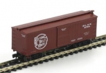 Athearn 10961 N Scale Cotton Belt 36' Box Car #16794 LN/Box
